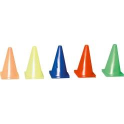 Set van 10 markeringskegels 20,5x20,5x37 cm