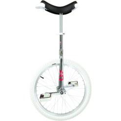 OnlyOne Monocycle «Indoor» Pneu 16'' (ø 41 cm), cadre blanc