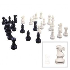 Figures d'échecs géantes