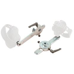Ergo-Fit® verstelbare pedaalarmen