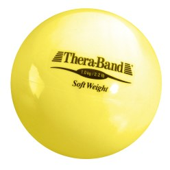 TheraBand Balle lestée « Soft Weight » 0,5 kg, beige