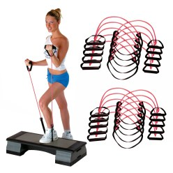 Sport-Thieme® Fitness-Step-Tube 10-delige set