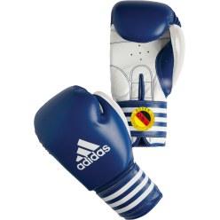 De Adidas® wedstrijd bokshandschoenen Ultima Rigid Cuff Rood, 14 ons.