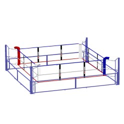 Sport-Thieme Opvouwbare boksring