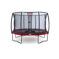 """Berg-trampoline """"Elite+"""" met veiligheidsnet"""
