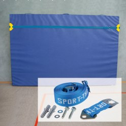 Kit de fixation murale avec coins de protection Sport-Thieme®