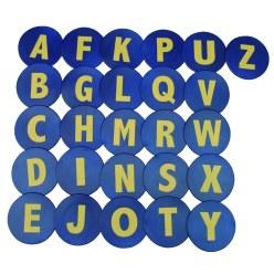 """Bodemmarkeringen """"Letters A-Z"""""""