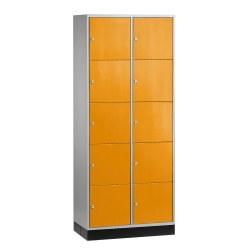 """Sluitvakkast voor grote ruimten """"S 4000 Intro"""" (5 vakken boven elkaar) Vuurrood (RAL 3000), 195x122x49 cm/ 15 vakken"""