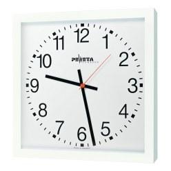 Peweta® wandklok voor grote ruimten 40x40 cm, netbedrijf