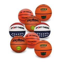 Lot de ballons de basket « Hommes »