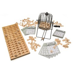 Bingo trommel -Bingo tafelspel