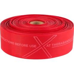 TheraBand® CLX™ Bande, rouleau de 22 m Rouge, moyen