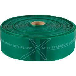 TheraBand CLX Band, 22 m Rol Groen, licht
