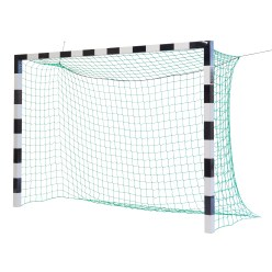 Sport-Thieme But de handball 3x2 m, avec fixation par fourreaux et angles d'assemblage