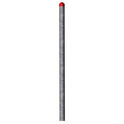 Stalen palen voor touwparcours Haiger