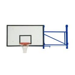 Basketbalwandconstructie draaibaar en in de hoogte verstelbaar
