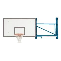 Basketbalwandconstructie draaibaar