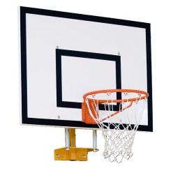 Châssis mural pour but de basket Sport-Thieme®, modèle fixe