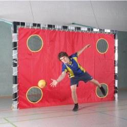 Sport-Thieme® Doelwandnet voor zaalhandbal Met 4 gaten