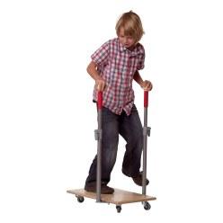 Kit Pedalo® avec planche à roulettes et barres d'appui