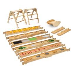 Kit chemin d'équilibre Erzi® - Grand modèle