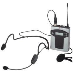 Monacor® Pocketzender met 2 microfonen