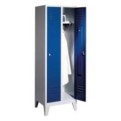 Garderobekast met 150 mm hoge poten