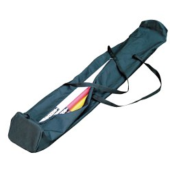 Schoudertas voor slalomstangen
