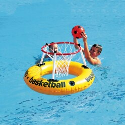 Water-Basketbal-Ring met band