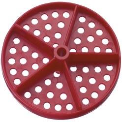 Perperforeerde disc voor competitor™ zwemlijn standaard ø 100 mm (set van 2)