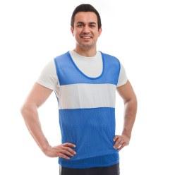 Sport-Thieme® herkenningsvest met sponsorveld Blauw