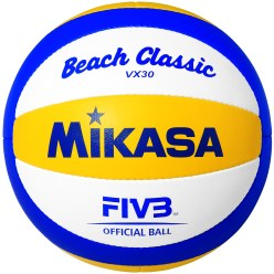 Ballon de beach-volley Mikasa « Beach Classic VX30 »