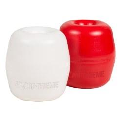 Sport-Thieme Flotteur hostalen, avec perforation 8 mm Blanc