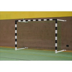 But de hand en salle Sport-Thieme® 3x2 m, rabattable, avec fixation murale
