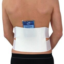 Hydas Rugsteunriem voor koude/warmte therapie