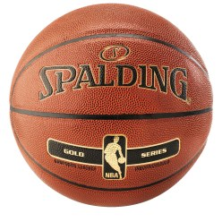 Ballon de basket Spalding® « NBA Gold »