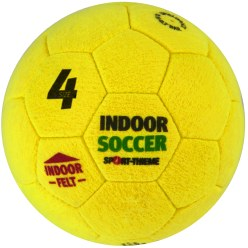 Ballon de foot en salle Sport-Thieme «Indoor Soccer» Taille 4, 360 g