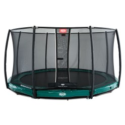 "Berg Trampoline InGround ""Elite"" met vangnet ""Deluxe"""