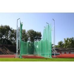 Kogelslingeren beschermrooster 7 m op 10 m