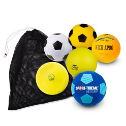 Lot de ballons de foot « Soft-Play »