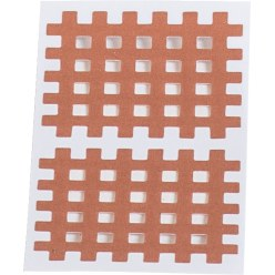 KS-Medical Gittertape KS « Cross-Patches » 40 pansements 52x44 mm, beige