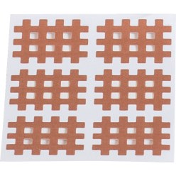 KS-Medical Gittertape KS « Cross-Patches » 120 pansements 36x28 mm, beige