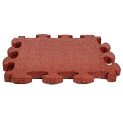 """Gum-Tech Schokdempende plaat """"Puzzle mat 3D"""" Zwart, 6 cm"""