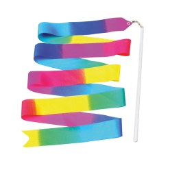 Gymnastieklint Regenboog met staafje