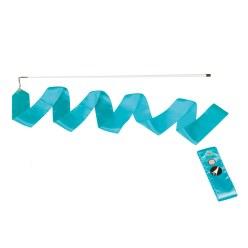 Ruban de gymnastique Sport-Thieme avec baguette « Entraînement» Bleu clair