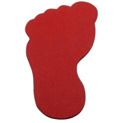 Sport-Thieme Marquage au sol Rouge, Flèche, 35 cm