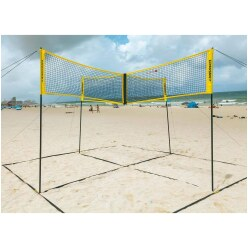 "Crossnet Volleybal-Set ""Four Square"""