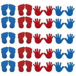 Sport-Thieme® Grondmarkeringsset: Hand en Voet