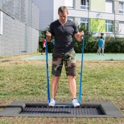 Trampoline pour enfant Eurotramp «Playground»
