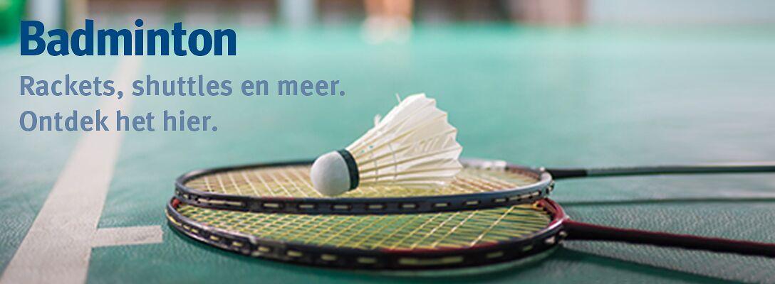 Badminton: ontdek het hier!